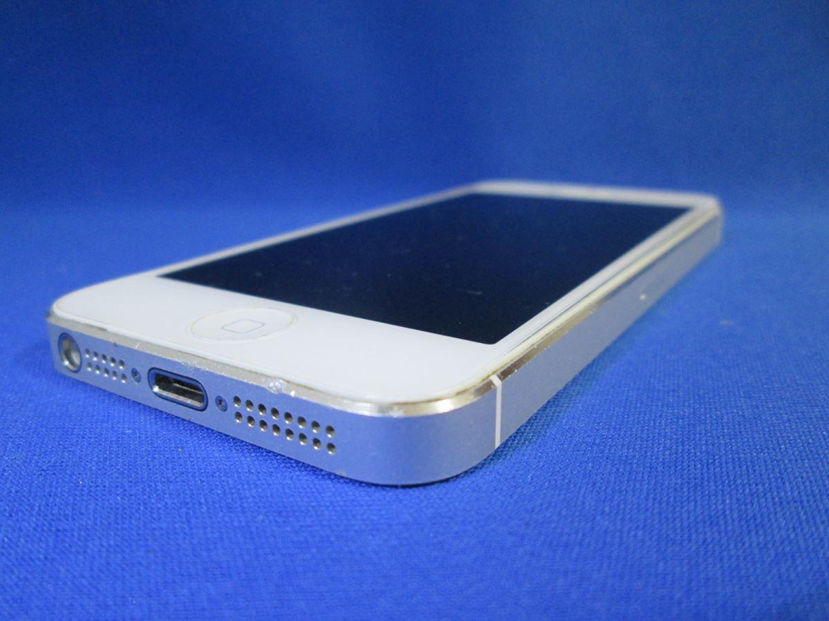 au/アップル/iPhone5 32GB ND144J/A