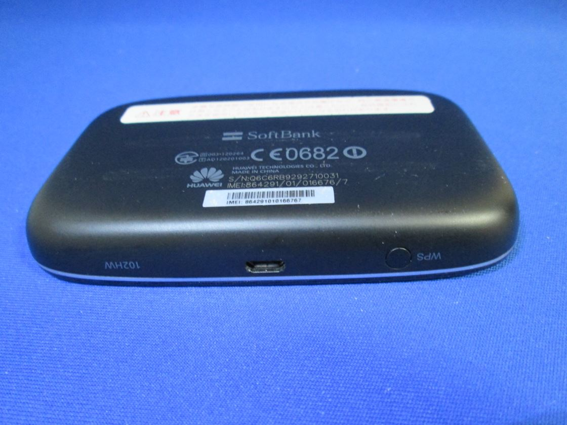 ソフトバンク/Huawei/102HW ULTRA WiFi 4G