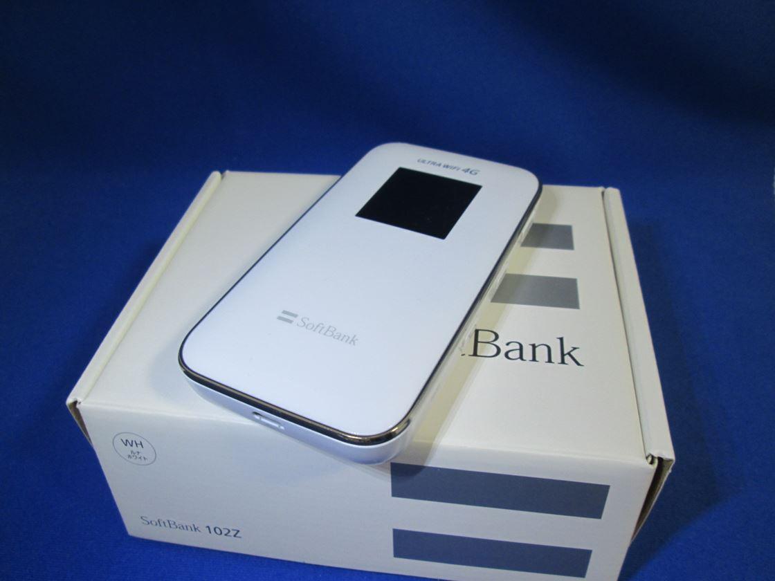 ソフトバンク/ZTE/102Z ULTRA WiFi 4G